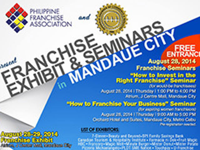 Franchise Exhibit & Seminars