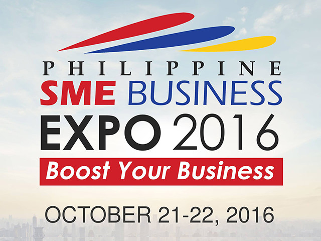 Philippine SME Business Expo 2016